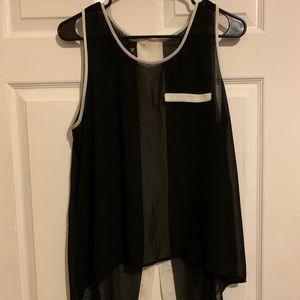 BCX sleeveless top